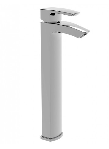 Studio Tall lavatory faucet with pop-up waste