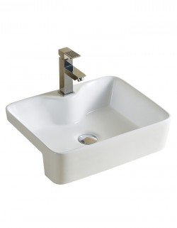 Acolia BOZZA 704 Semi Recessed Basin