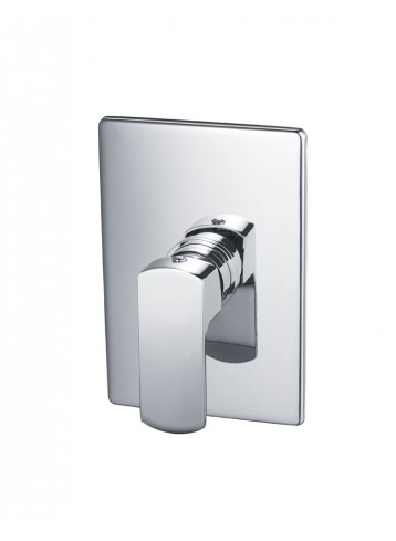 Moselle Wall Concealed Shower Mixer with Plate and Handle