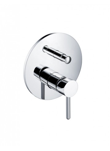 Icon Wall Concealed Shower Mixer with Plate and Handle