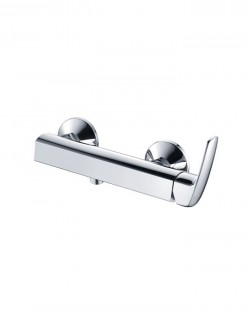 Emmer Wall Mounted Single Lever Shower Mixer without Hand Shower Kit