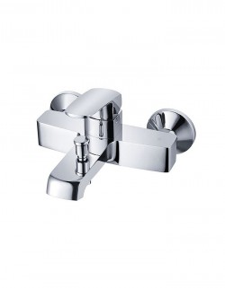 Emmer Wall Mounted Single Lever Bath Shower Mixer without Shower Kit