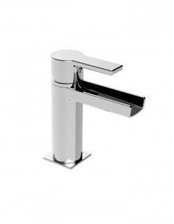 Italia150 Lavatory faucet open spout without pop up waste
