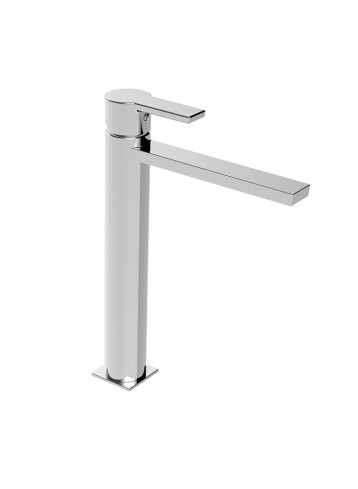 Italia150 Tall lavatory faucet without pop-up waste