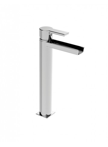 Italia150 Tall lavatory faucet open spout without pop up waste