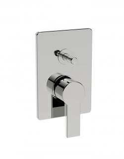 Italia150 Built-in shower mixer with automatic return diverter