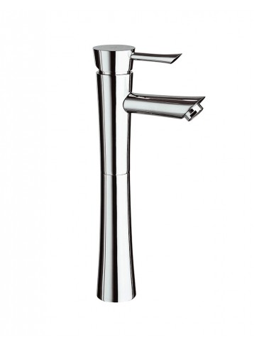 Konvex Tall lavatory faucet without pop-up waste